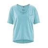 blouse bio dh850_bleu_turquoise