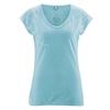 tee shirt femme chanvre dh852_bleu_turquoise