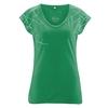 t-shirt col V femme bio dh852_vert_smaragd