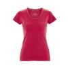 t-shirt bio-équitable femme dh270_rouge_piment