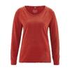 t-shirt chanvre bio dh856_orange_sanguine