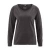 t-shirt manches longues femme dh856_noir