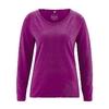t-shirt femme coton bio dh856_violet_myrtille