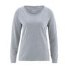 t-shirt manches lonfues femme coton bio dh856_gris_étain