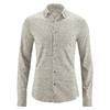 chemise homme manches longues chanvre dh038_marron_mud