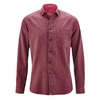 chemise homme chanvre coton bio dh039_rouge_tomate