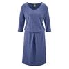 robe coton bio dh153_bleuet