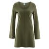 robe tunique bio équitable dh866_vert_wolf