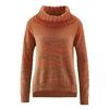 pull col roulé coton bio éthique  LZ360_orange_renard