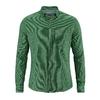 chemise pied de poule chanvre DH030 vert algue