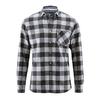 chemise carreau bio éthique dh029_noir_gris_platine