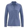 chemise femme manches longues chanvre dh147_bleu_baie