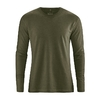t-shirt manches longues bio dh225_vert_wolf