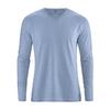 tee shirt coton biologique dh225_bleu_ciel_de_pluie