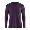 t-shirt chanvre éthique dh225_violet_aubergine