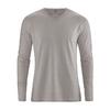 t-shirt lin dh225_marron_mud