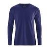 t-shirt bio-équitable dh225_bleu_nuit