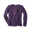 t-shirt hempage dh225_violet_aubergine