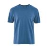 t-shirt manches courtes homme Hempage France dh233_bleu_mer