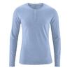 t-shirt manches longues chanvre coton bio dh239_bleu_ciel_de_pluie