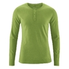 t-shirt col boutonné chanvre dh239_vert_weed