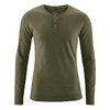 t-shirt col boutonné bio équitable dh239_vert_wolf