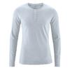 t-shirt col boutonné chanvre dh239_gris_platine