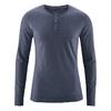 t-shirt col boutonné bio dh239_bleu_ciel_hiver