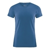 t-shirt chanvre coton bio dh245_bleu_mer