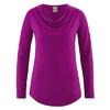 t-shirt femme bio dh250_violet_myrtille