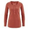 t-shirt femme Hempage France dh257_orange_sanguine