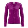 gilet chanvre coton bio femme dh323_violet_myrtille