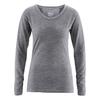 t-shirt manches longues coton bio dh858 melange