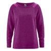 pull chanvre soie DH854_violet_myrtille