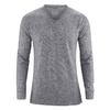 tee shirt homme chanvre DH807_gris_chiné