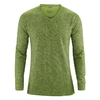 tee shirt homme manches longues chanvre weed DH807_vert_weed
