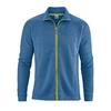 veste sport coton bio DH710_bleu_mer