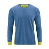 t-shirt coton bio chanvre homme DH292_bleu_mer