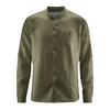 chemise col mao éthique DH026_vert_wolf