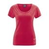 tee-shirt femme bio équitable chanvre DH235_rouge_piment