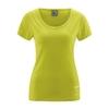 t-shirt manches courtes imprimé chanvre DH235_vert_pomme