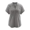 blouse éthique DH873_taupe