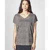 t-shirt manches courtes femme LZ_371 gris_antracite