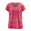 t-shirt femme pur chanvre LZ371_rouge_tomate