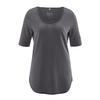 t-shirt long femme bio DH262_gris_antracite