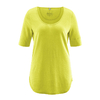 t-shirt long femme DH262_vert_pomme