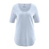 t-shirt bio équitable DH262_bleu_clair