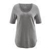 t-shirt coton bio éthique femme DH262_gris_taupe