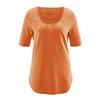 t-shirt long équitable DH262_orange_carotte