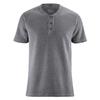 t-shirt col boutonné coton bio DH818_anthrazit